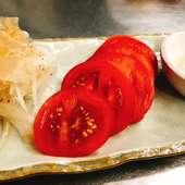 人気な『チョレギ風塩サラダ』  新鮮野菜を塩味で爽やかに!