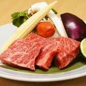 滋賀県「近江牛」も味わえる