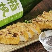 日本酒が各種取り揃えられています。『箱根山』『丹沢山』など、地元愛に基づいた地酒の数々は、お刺身や炭火焼きなどの美味しい和食にピッタリ。料理に合うお酒を訊き、ゆったりと至福のひとときを過ごしませんか。