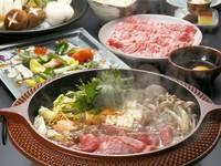 島根県産黒毛特選和牛をすき焼きで