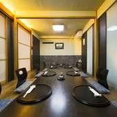 個室完備で、コース料理も充実しているので各種宴会もおまかせ
