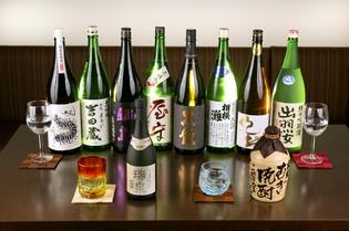 主張しすぎず、料理と共に寄り添いあえる「日本酒」