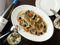 本日の鮮魚の料理