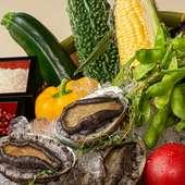 秋の食材を使用したシェフ特製コースをどうぞご賞味ください。