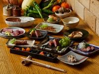 お肉好きにはたまらない、質・量ともに大満足の『会席膳』※写真はイメージです。