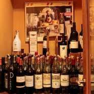 身体喜ぶ自然派ワインをご用意。リーズナブルで美味しい南半球のワインから、イタリア・フランスの銘穣ワインまで、個性豊かなワインが並びます。