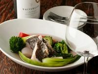 幅広い年齢層『鮮魚と有機野菜のアクアパッツァ』