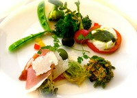 AZURは有機野菜を使用しております。