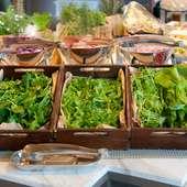 東京で生産されている野菜のみを使った『東京サラダ』