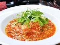 3~4時間コトコト煮込んでトマトソースで和える『トリッパ』