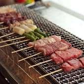 和牛中心の牛肉や地元高島産の米など、選りすぐりの食材を使用