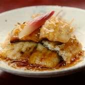 鰻の濃厚な旨味を楽しめる『鰻の白焼』