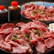 【内容】(3~4名様分) 上塩タン 255g 上ロース 270g カルビ 240g タレ  アリラン峠が厳選する上質なお肉を3種類セットでどうぞ!  お肉は塊で仕入れ、注文を受けてから発送直前に手切りでカットしており お肉の状態をしっかりと見極め、常に新鮮な状態で最高な部分を提供しています。  お肉は一度も冷凍しないまま、冷蔵でお届けします。