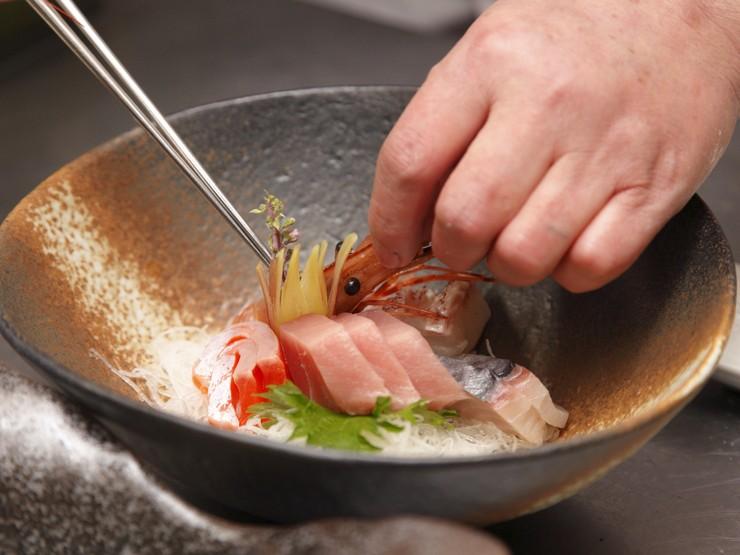 お客様への感謝の気持ちを胸に、丁寧に調理することを心掛け