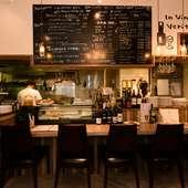 豊富な前菜、本格ピッツァ&パスタを楽しむイタリアン・デート