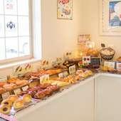 選ぶ楽しさを味わってほしいから、できるだけ多くのパンを準備