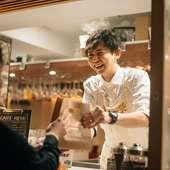 【イタリア】でまさに今旬の食材をメインに組み上げられたペペロッソのスタンダートコースとなっております