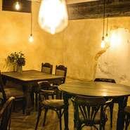 デートにもオススメの「はりまやライト」。 ランチデートから、ディナー使いまで幅広いシーンにオススメ。様々なお料理とドリンクを開放的な空間でお楽しみください。