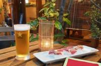 """・本日の""""おつまみ""""3品 ・お刺身 ・生ビール2杯"""