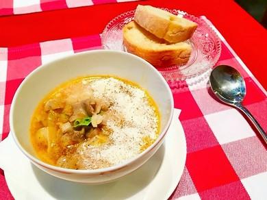 フィレンツェに400年続く『ランプレドット(牛モツ)のスープ』