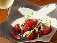 自家製バルサミコソース『ミニトマトサラダ』