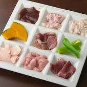 「色んな種類を一度に食べたい!」が叶う『牛ホルミックス』(味噌だれ・タレ・塩コショウ)