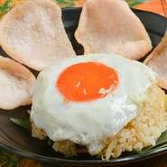 インドネシアの代表的なチャーハン。お好みでチーズや明太子、カレー粉などのトッピングができるので、自分好みのナシゴレンを味わえます。
