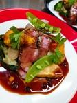 お魚料理の日もあれば、お肉料理の日もございます。カジュアルな雰囲気で本格的なフランス料理を是非楽しんでください。(ポタージュ、サラダ、コーヒー付き)