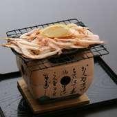 富山名物白えび本来の味を深く堪能できる『白えび昆布焼き』