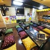カウンター席もあり、一人でも入りやすい雰囲気。ぜひお気軽に!