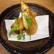 神戸プラチナポークの自家製ベーコン入りです。
