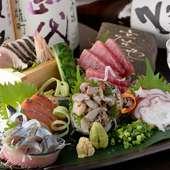 毎日仕入れる旬の魚で四季を堪能。和と洋を楽しめるところも魅力