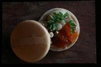 アプリコット/カシューナッツ/白味噌餡/白花豆