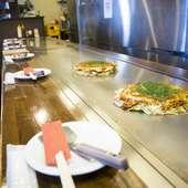 専用の焼きそば麺を毎日広島から直送