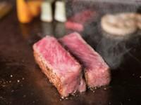 ヒトサラ限定コース アワビとA5ランクのステーキが楽しめる贅沢なコース