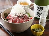 A5ランクの宮崎牛の『ローストビーフ丼』