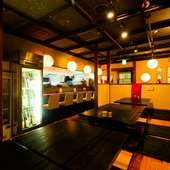 県外からのゲストにも最適。新鮮な魚料理と地酒でおもてなし