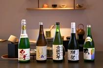 多種多様な品揃え。『くどき上手』は飲みやすく食中酒におすすめ