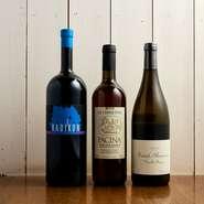 ワインはイタリアのクラシックなものや自然派など、シェフとソムリエがその時にいいと思うものを都度仕入れているので、ラインナップは常に変わります。中でも作り手の思いが感じられるものを中心に選んでいます。