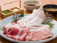 肉の甘みたっぷり! 厳選したアグー豚単品・コース各種