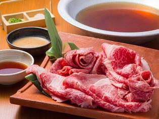霜降りと赤身のバランスが絶妙な美味しさ『石垣牛しゃぶしゃぶ』