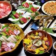 7品ほどの料理に飲み放題が付いた宴会向けプランで豪華な女子会はいかが。女性スタッフが多く、細やかな気配りと優しいムードが女子会にぴったりです。美味しい料理とお酒を囲めば、おしゃべりにも花が咲きます。