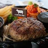 お肉を贅沢に使用した、食べごたえのあるメニューの数々