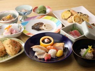 旬の食材それぞれを生かした会席料理『鎌倉コース』