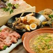 京都産の食材を使ったバリエーション豊かな料理。心を込めて料理人がつくった京おでんと自家製の酒肴を存分に楽しめます。3000円~予算に応じてメニューを相談できるので、歓送迎会・女子会などの宴会に最適です。