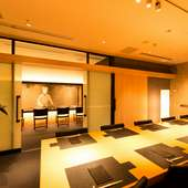 純米酒を中心に、利酒師セレクトの日本酒をワイングラスでご提供
