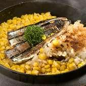 旬魚介×野菜、季節を映す食材で仕立てる自慢の『釜御飯』