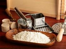 江別製粉の国産小麦「キタノカオリ」でつくる手打ちパスタは必食