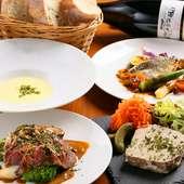 フランス料理をもっと身近に。ビストロ料理を手頃な価格で提供
