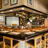 好きな寿司を握り、お客様にはゆっくりと楽しんでもらえれば